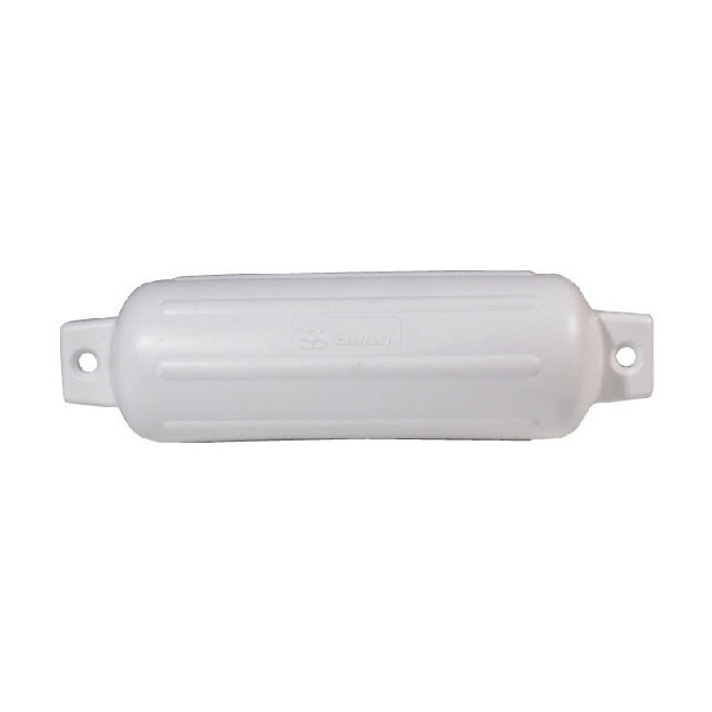 Moulded Inflatable Fender - 115mm x 380mm - White (141670)