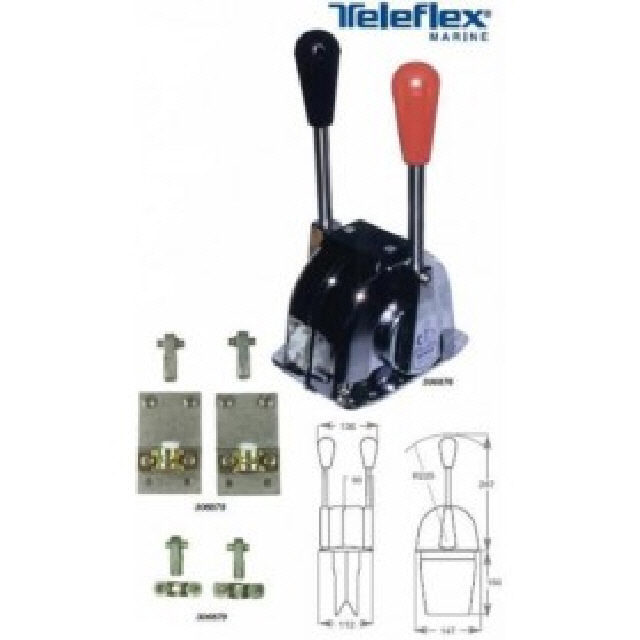 40 series dual station kit (1 per pair of levers) (306879)