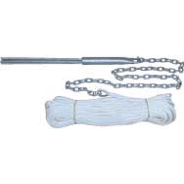Reef Anchor Kit 10mm 4p 50x8 Rope 4x6 Chain (146409)
