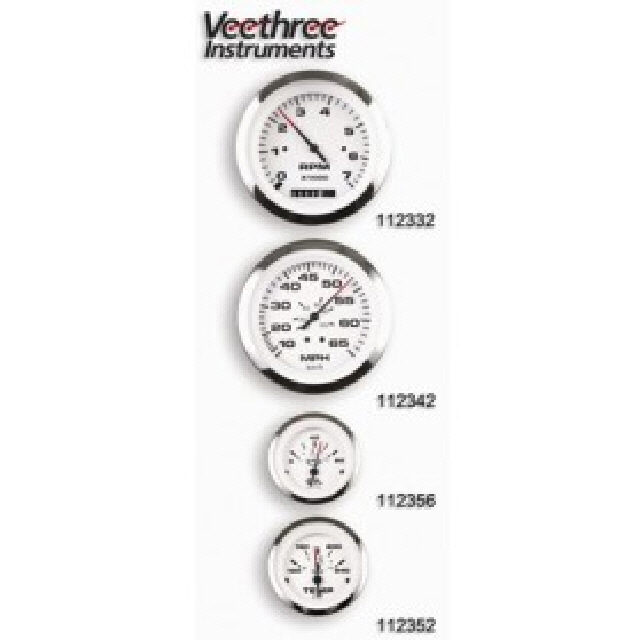 Trim Gauge Evinrude/Johnson Lido Pro Wh (112370) - In Stock at www