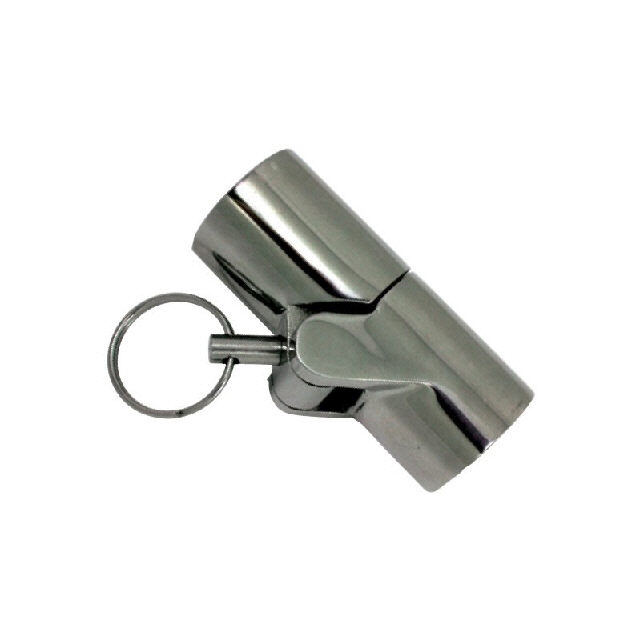 Canopy Tube Hinge Stainless Steel 22mm-7/8 With Pin (195075)