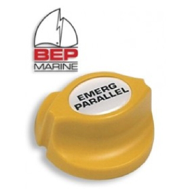 BEP Yellow Parallel Battery Switch Knob: (113590)