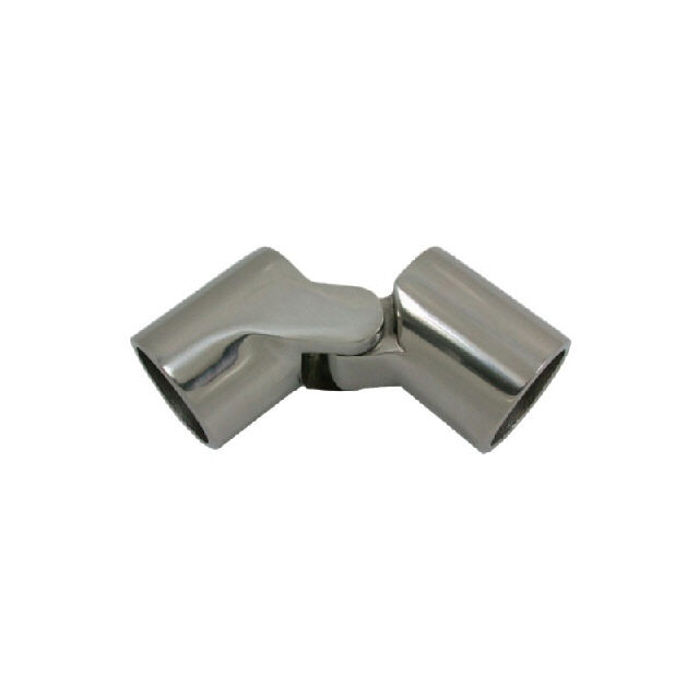 Canopy Tube Hinge Stainless Steel 25mm-1 No Pin (195076)