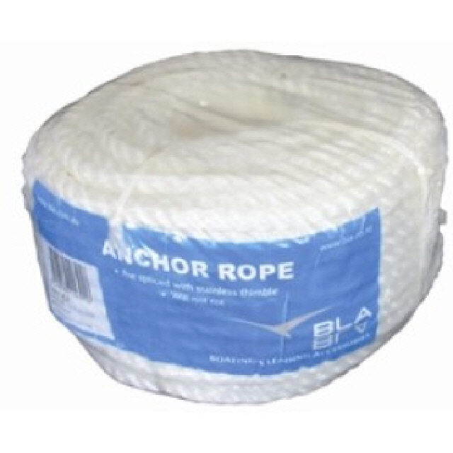 Silver Rope Anchor Coil 8mmx110m (144176)
