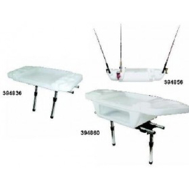 Large Deluxe Cutting/Bait Board & 4 Rod Slots (394860)