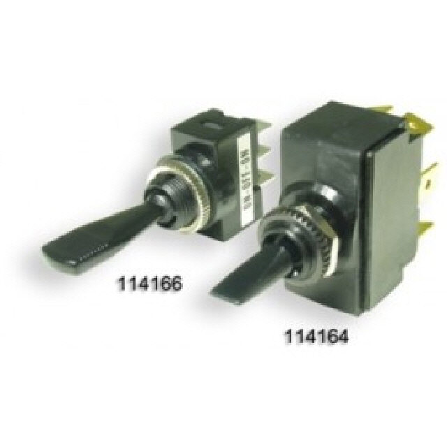 Toggle Switch - On/Off/On - Double Pole (114164)