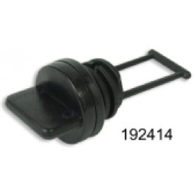Bung & Washer Black Plastic T/S 192412 (192414)