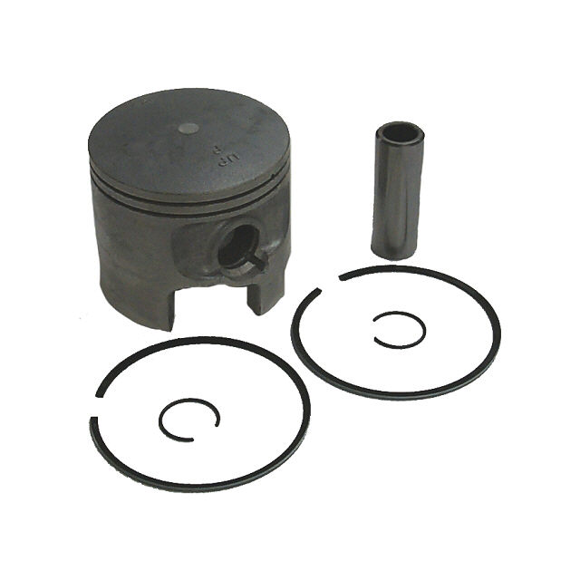 .015 OS Bore V6 Piston Kit - Sierra (S18-4641)