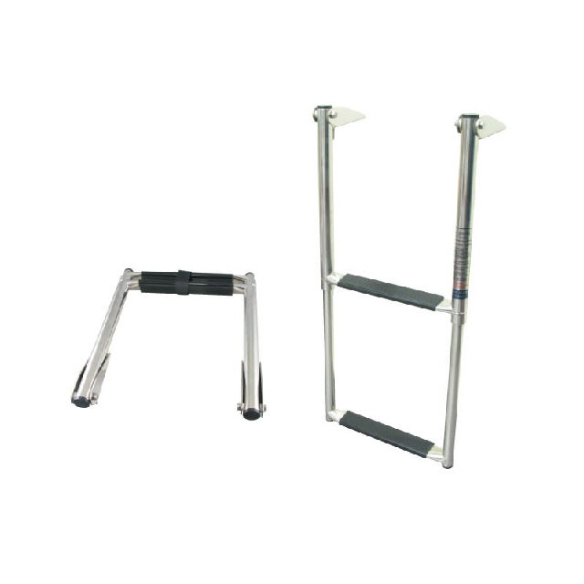 Stainless Steelteel Telescopic Boarding Ladder - 3 step (194220)