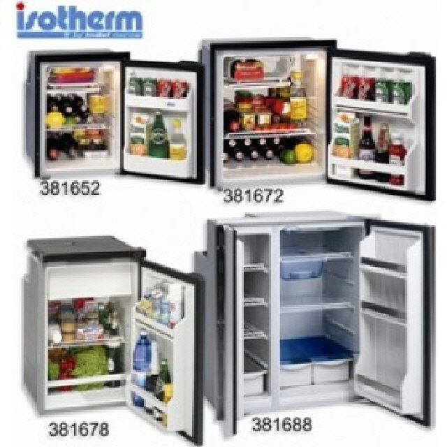 Fridge/Freezer Cruise Grey Line 100l (381678)