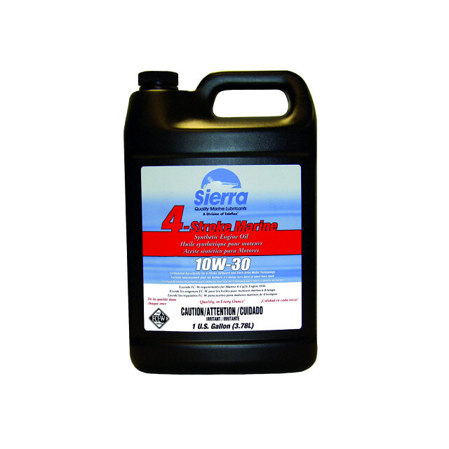 4 Stroke Outboard Synthetic Oil 10W30 - Sierra (S18-9690-3)
