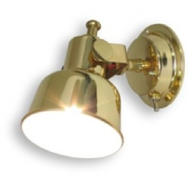 Light Cabin Brass 12v 15w (122354)