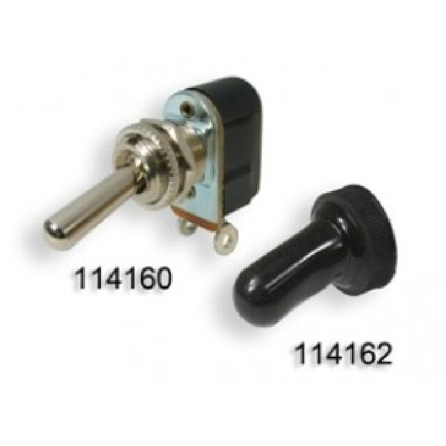 Mini Toggle Switch - 2 Position (114160)
