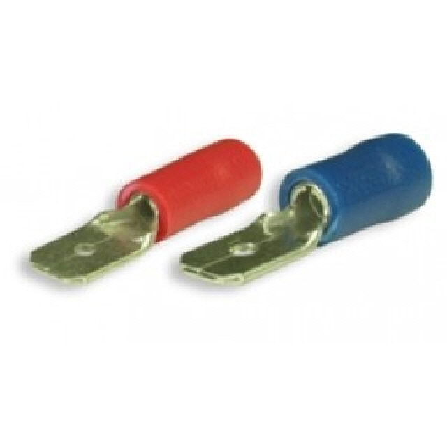 Pre-insulated Internal Spade Terminal 10pk - Red (115492)
