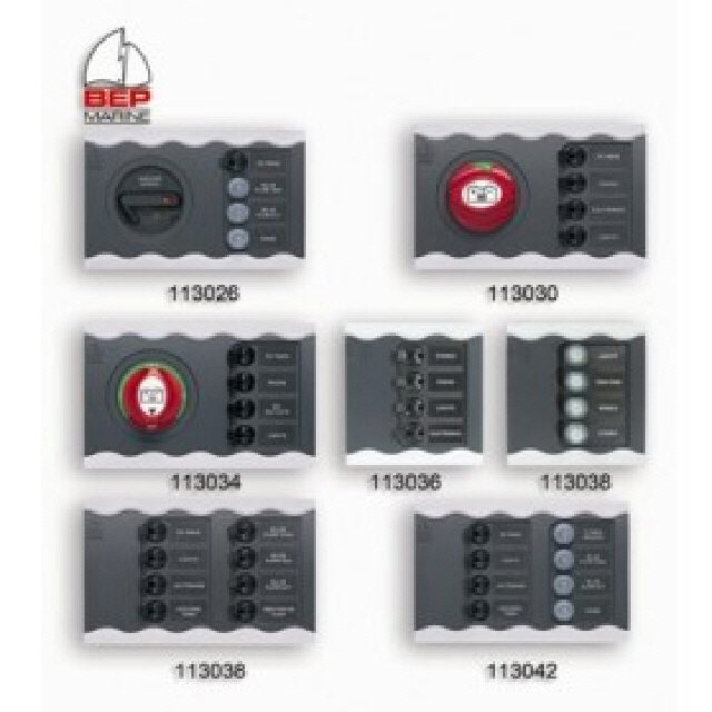 Switch Panel Contour Connect 8 Toggle Cb's (113038)