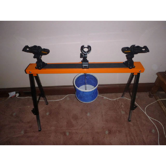 Worlds Universal Adjustable Rod Holder