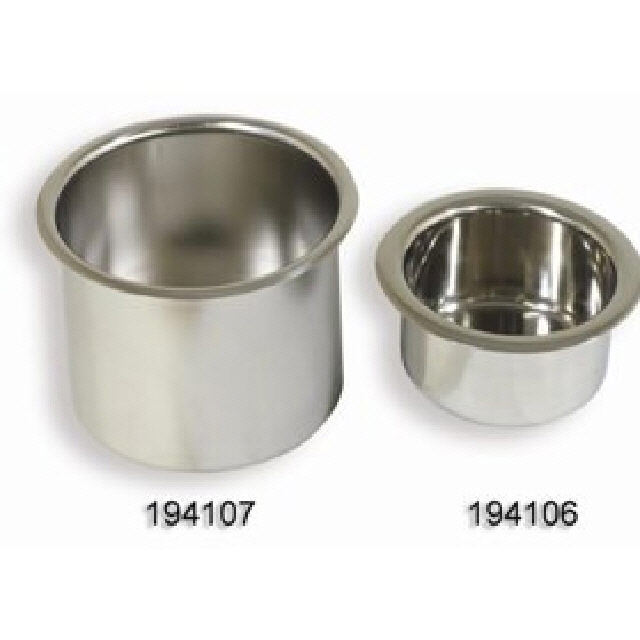 Drink Holder Recessed Stainless Steel 88mm Dia (194106)