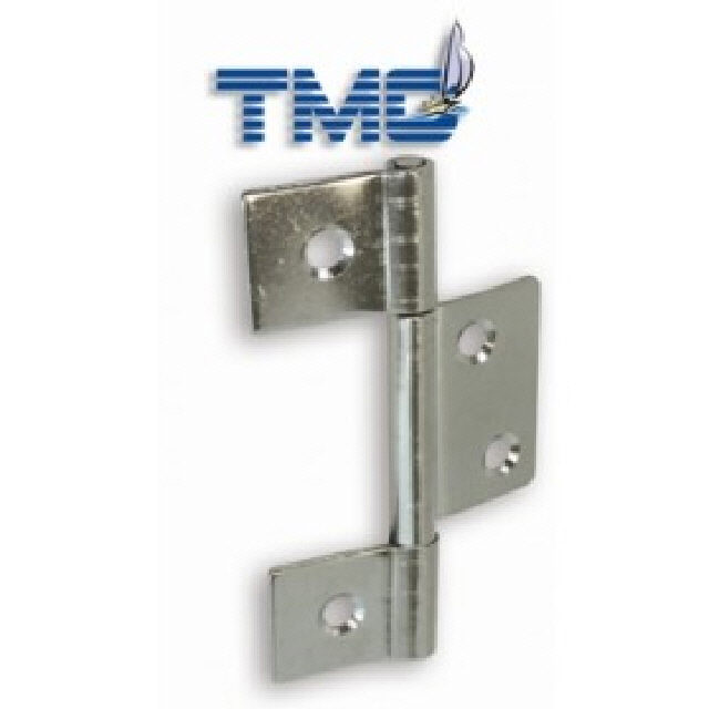 Hinge Butt Non Mortise Stainless Steel 86x51mm Pr (193580)
