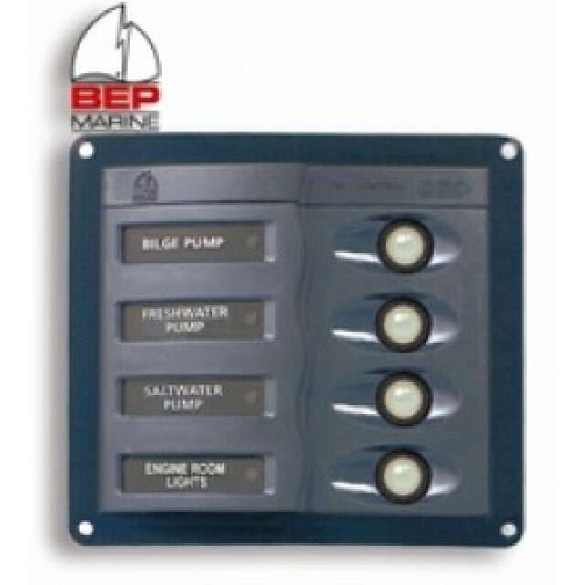System in Operation Panel -8 Circuit Alarm & Mute (113273)