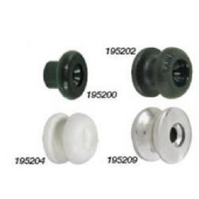 Button Shock Cord Stainless Steel T/S 8mm (195209)