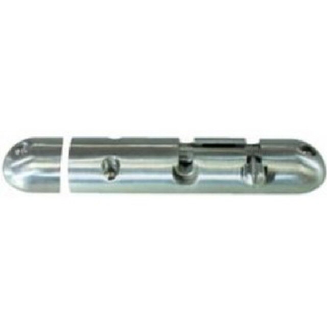 Barrel Bolt Rounded Cast Stainless Steel 105mm (193031)
