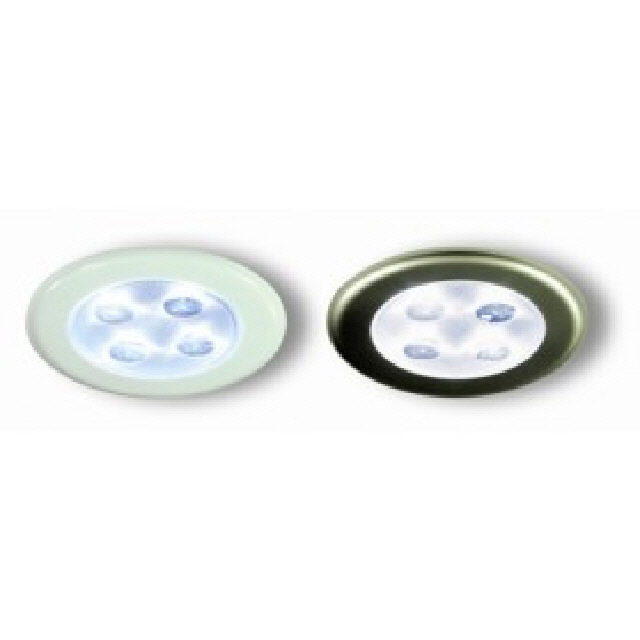 Light Recessed Led White W/Proof (122348)