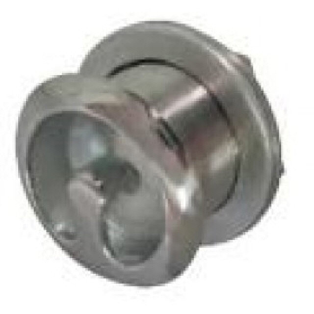 Hook Ski Tow Recessed Stainless Steel 65mm Od (192654)