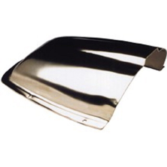 Vent Clam Stainless Steel 185x172mm (175322)