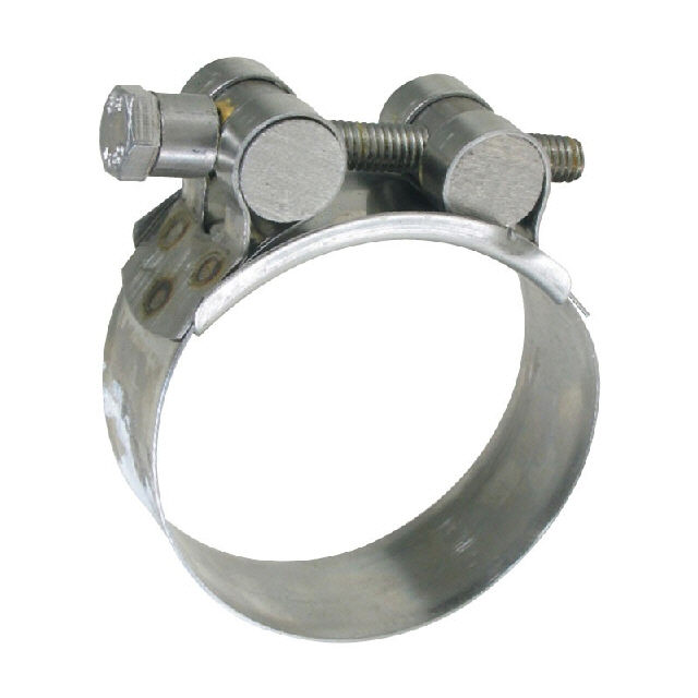 Hose clamp t bolt stainless steel mm in