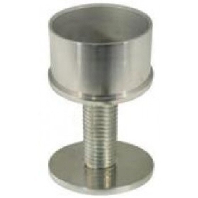 Base Int Round Bolt Thru T/S 2x16g Tube (168116)