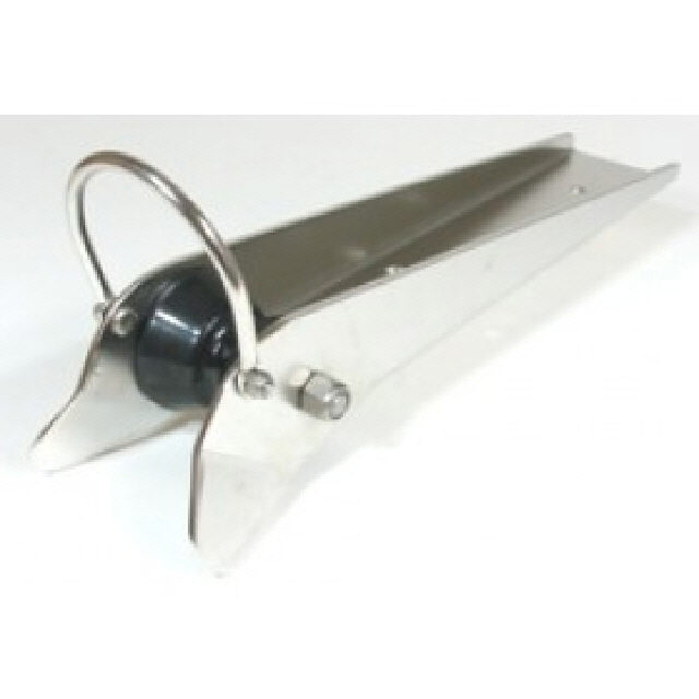 Bow Roller Stainless Steel With Strap 589mmx86mm (192106)