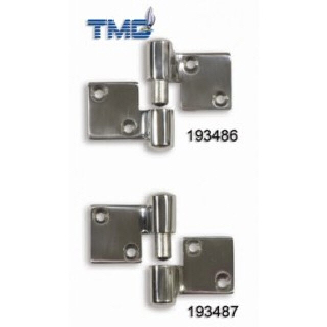 Hinge Separating Stainless Steel 90x52mm Left Hand (193486)