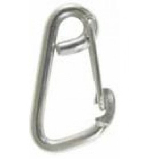 Hook Snap Asymetric G316 Stainless Steel 60mm X 6mm (164044)