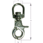 Hook Snap Tiger Swivel G316 Stainless Steel 50mm (164126)
