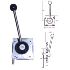 Single lever gear only side mount control (306943)