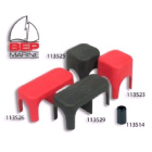 Cover Single Insulated Stud Black (113525)