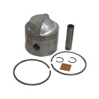 .020 OS Bore Piston for Johnson/Evinrude, GLM 23950, Wiseco 3121P2, Vertex Pistons 2763020 - Sierra (S18-4113)