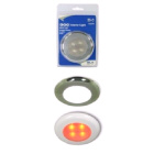Light Interior Round Red Led (122380)