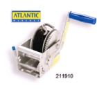 Atlantic Winch 3:1 with 6m x 4mm Cable (211908)