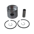 2 Ring .030 OS Bore Inline Piston Kit High Dome - Sierra (S18-4535)