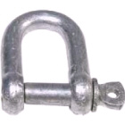 "Dee 'D' Shackle - Galvanised - 22mm (7/8"") (143016)"