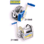 Atlantic Brake Winch 10:1 with 7.5m x 6mm Cable (211950)