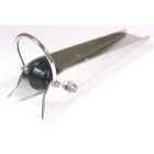 Bow Roller Stainless Steel With Strap 390mmx45mm (192100)