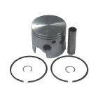 .015 OS Bore V6 Piston Kit - Sierra (S18-4565)