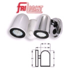 Light Tube Chrome C/W White Led (122368)