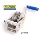 Atlantic Winch 5:1 with 6m x 4mm Cable (211914)