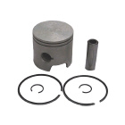 2 Ring .015 OS Bore Inline Piston Kit - Sierra (S18-4017)