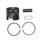 .015 OS Bore V6 Piston Kit - Sierra (S18-4642)