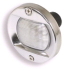 Light Cockpit Round Stainless Steel 75mm (123002)