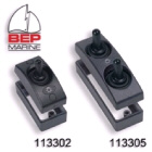 Exterior Contour Switch - Double On/Off Black (113305)
